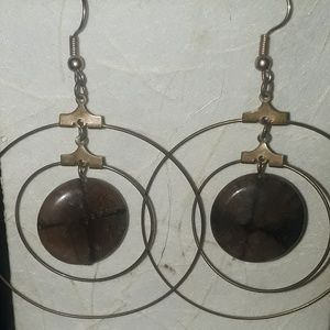 Gold wire with stone spinner